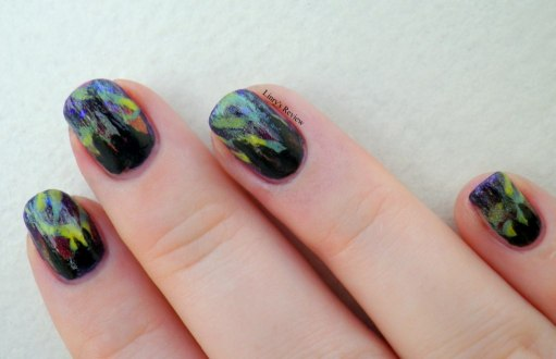 nailstorming aliens aurore boreale nailart linry's review 5